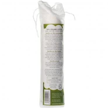 Dischete demachiante din bumbac organic, 100 buc, Macdonald and Taylor