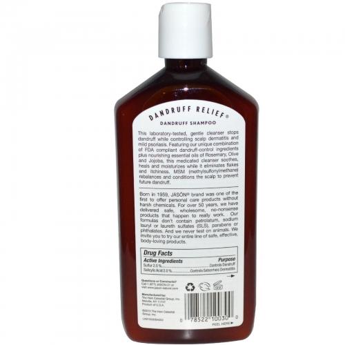 Sampon Tratament Anti-Matreata, 355 ml. Jason
