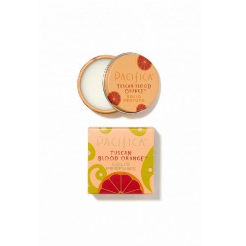 Parfum solid Tuscan Blood Orange -  citrice, 10g. Pacifica