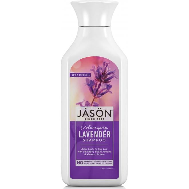 Sampon Jason, cu lavanda, pentru volum, 473 ml