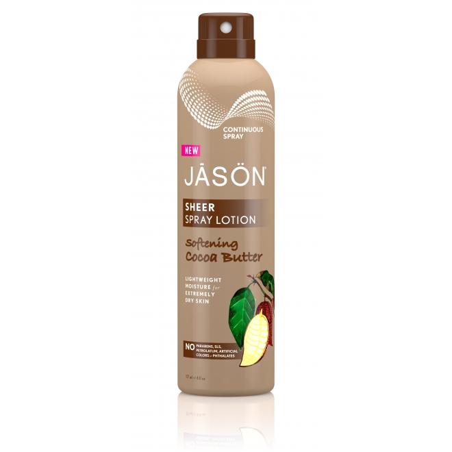 Spray hidratant pentru corp cu unt de cacao Jason