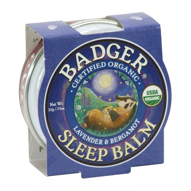 Mini balsam pentru un somn linistit, Sleep Balm Badger, 21 g