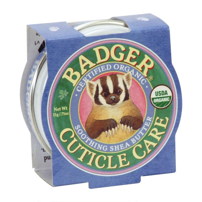 Mini balsam pentru cuticule si unghii, Cuticle Care Badger, 21 g