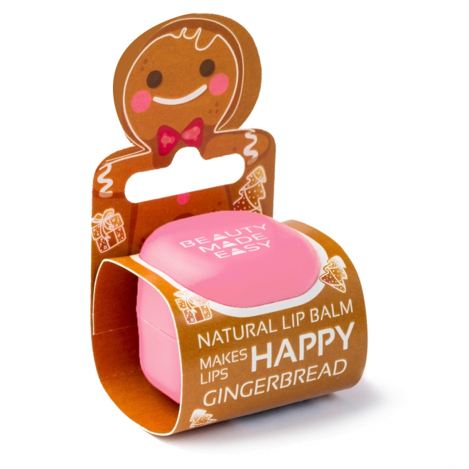 Balsam natural de buze Beauty Made Easy, cu turta dulce - Editie Limitata, 7g