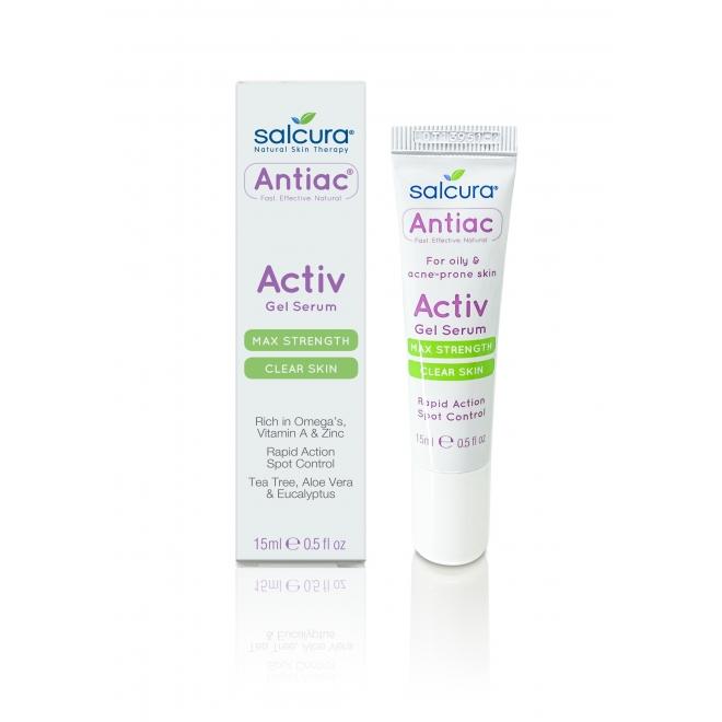Gel tratament Antiac, acnee si pete pigmentate, pt fata si corp, Salcura 15 ml