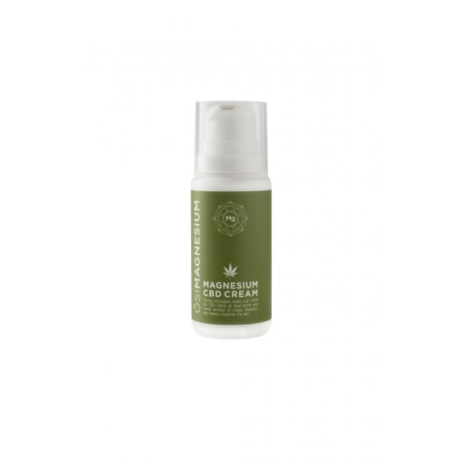 Crema pt ten, antioxidanta cu magneziu si CBD (cannabis) 100% bio, Osimagnesium,100ml