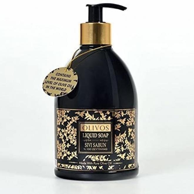 Sapun lichid Elegance pt ten si corp, cu ulei virgin de masline, Olivos, 500 g