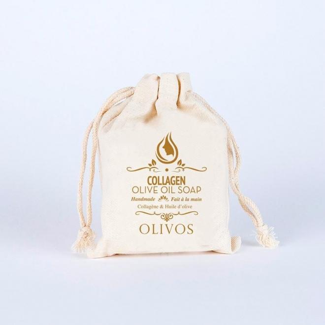 Sapun cu ulei de masline si colagen, pt. elasticitate si fermitate, Olivos, 150 g