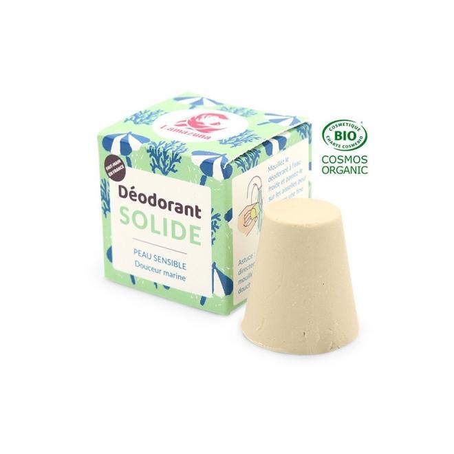 Deodorant solid MARIN pt piele sensibila - zero waste - Lamazuna 30gr