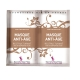 Masca restructuranta anti-aging pt. fata, cu ceai verde, baobab si acid hialuronic, Secrets des Fees, 2x4.5g