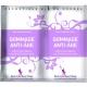 Exfoliant facial regenerant, antiage, cu acid hialuronic, bujor si ceai verde, Secrets des Fees, 2x4g